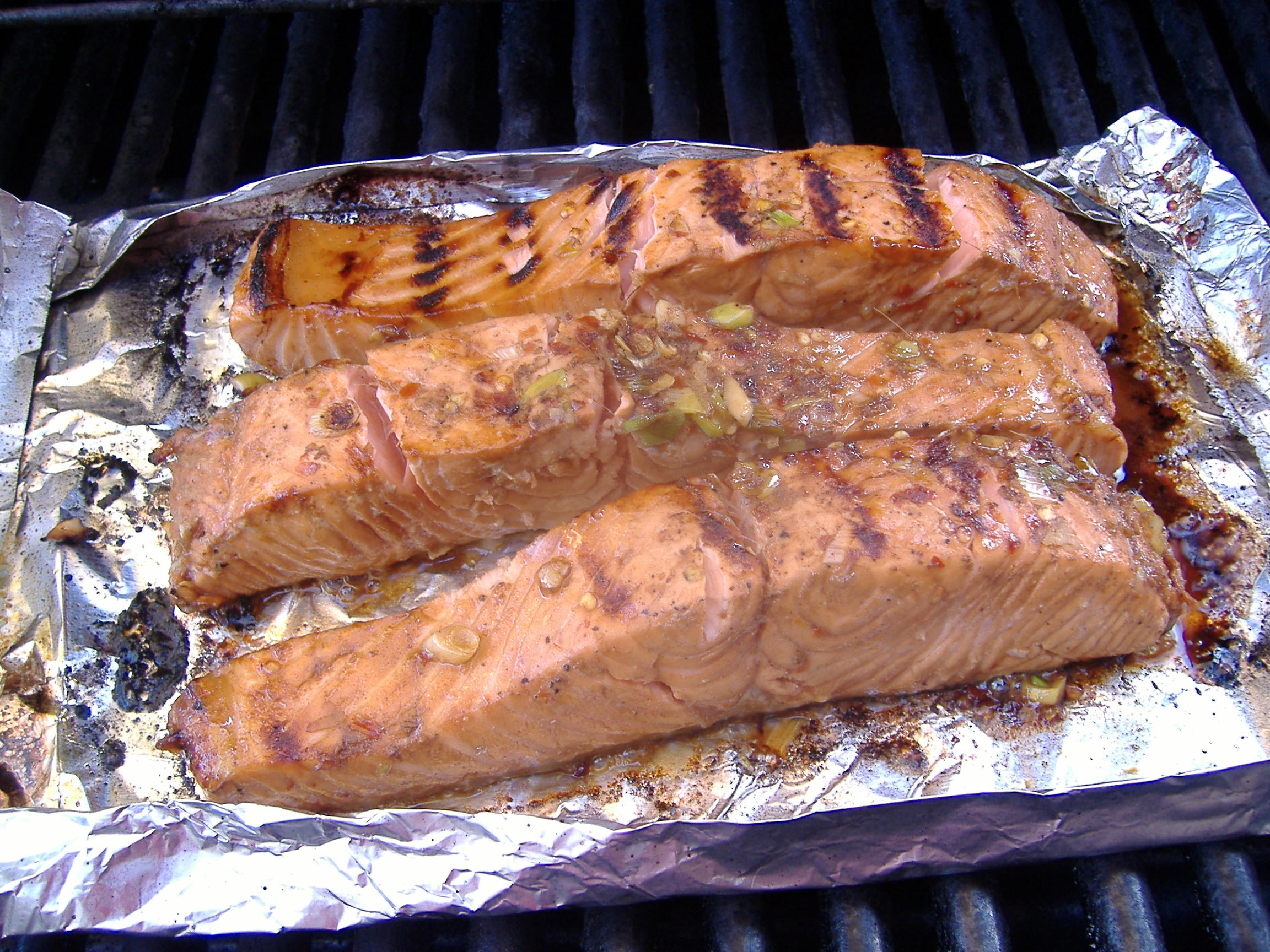 Firecracker Salmon | Thinking About...