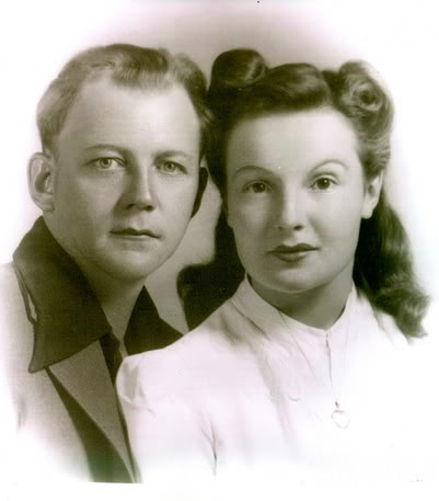 Grandpa and Grandma 1941
